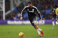 Diego Costa of Chelsea in action. Barclays Premier League match, Crystal Palace v Chelsea at Selhurst Park in London on Sunday 3rd Jan 2016. pic by John Patrick Fletcher, Andrew Orchard sports photography.