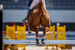 DEUSSER Daniel (GER), Newton van het Krekelhof<br /> Youngster Tor für 7+8jährige Pferde<br /> Aachen - Jumping International 2020<br /> 05. September 2020<br /> © www.sportfotos-lafrentz.de/Stefan Lafrentz