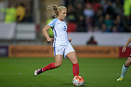 Alex Greenwood (England) during the Euro 2017 qualifier between England Ladies and Belgium Ladies at the New York Stadium, Rotherham, England on 8 April 2016. Photo by Mark P Doherty.