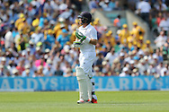 Ian Bell of England leaves the field during the third day of the 5th Investec Ashes Test match between England and Australia at The Oval, London, United Kingdom on 22 August 2015. Photo by Ellie Hoad.