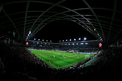 Stadium during football match between National teams of Slovenia and England in Round #3 of FIFA World Cup Russia 2018 Qualifier Group F, on October 11, 2016 in SRC Stozice, Ljubljana, Slovenia. Photo by Vid Ponikvar / Sportida