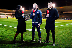 Bristol Rovers Caretaker manager Joe Dunne is interviewed on BT Sport after the final whistle of the match - Mandatory by-line: Ryan Hiscott/JMP - 17/12/2019 - FOOTBALL - Home Park - Plymouth, England - Plymouth Argyle v Bristol Rovers - Emirates FA Cup second round replay