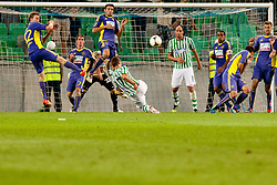 Matic Fink #17 of Olimpija during football match between NK Olimpija and NK Maribor in 5th Round of Prva liga NZS 2012/13, on August 11, 2012 in SRC Stozice, Slovenia. (Photo by Urban Urbanc / Sportida.com)