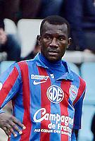 Jean Jacques PIERRE - 15.12.2012 - Nantes / Caen - 18eme journee de Ligue 2<br /> Photo : Fred Porcu / Icon Sport *** Local Caption ***