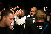 LAS VEGAS, NV - JULY 7:  Derrick Lewis walks to the Octagon during UFC Fight Night at MGM Grand Garden Arena on July 7, 2016 in Las Vegas, Nevada. (Photo by Cooper Neill/Zuffa LLC/Zuffa LLC via Getty Images) *** Local Caption *** Derrick Lewis