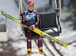 20.03.2010, Planica, Kranjska Gora, SLO, FIS SKI Flying World Championships 2010, Flying Hill Individual 3rd Round, im Bild Michael Uhrmann, ( GER, #9 ), EXPA Pictures © 2010, PhotoCredit: EXPA/ J. Groder / SPORTIDA PHOTO AGENCY