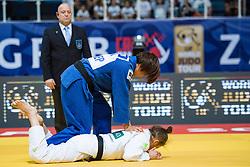 TRSTENJAK Tina of Slovenia competes on July 27, 2019 at the IJF World Tour, Zagreb Grand Prix 2019, in Dom Sportova, Zagreb, Croatia. Photo by SPS / Sportida