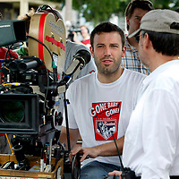 Ben Affleck in and around Boston,MA Filming, directing and acting in Gone Baby Gone. Photo by Mark Garfinkel.