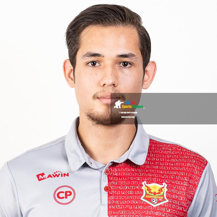 THAILAND - JUNE 29: Jack Krause #30 of Sukhothai FC on June 29, 2019.<br /> .<br /> .<br /> .<br /> (Photo by: Naratip Golf Srisupab/SEALs Sports Images/MB Media Solutions)