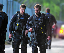 © Licensed to London News Pictures. 30/05/2017. <br /> Chislhurst, UK. <br /> Armed police hunt for gunman.<br /> Police hunt for gunman. Reports of a gunman near Darul Uloom school, Foxbury Avenue, Chislehurst.<br />   Photo credit: Grant Falvey/LNP