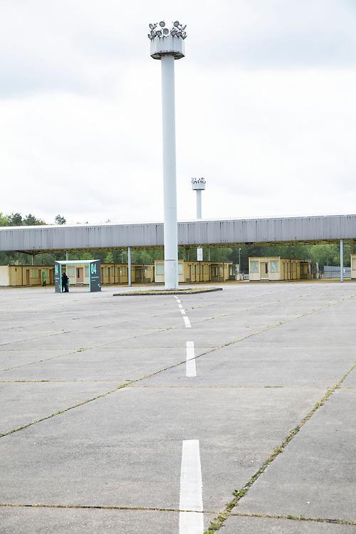 Gedenkstätte Deutsche Teilung Marienborn - der ehemalige Grenzübergang Helmstedt / Marienborn, Deutschland, 4. Mai 2020