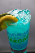 """""""The Glacier Ice Margarita"""" served with real glacier ice on board the Glacier Quest Cruise offered by Phillips Cruises and Tours in Prince William Sound, Alaska, USA.<br /> <br /> Photographer: Christina Sjögren<br /> <br /> Copyright 2019, All Rights Reserved"""