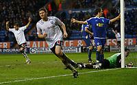 Photo: Steve Bond/Sportsbeat Images.<br />Leicester City v West Bromwich Albion. Coca Cola Championship. 08/12/2007. Zoltan Gera (L) celebrates