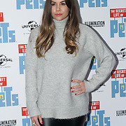 London, England,UK. 12th Nov 2016: Imogen Thomas attend the UK 'Petmiere' of The Secret Life of Pets to mark the Blu-ray and DVD release on Monday November 14th 2016 at Prince Charles Cinema, Soho,London,UK. Photo by See Li