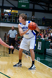 29 June 2013:  Alex Majewski.  2013 Boys Illinois Basketball Coaches Association All Start game at the Shirk Center in Bloomington IL