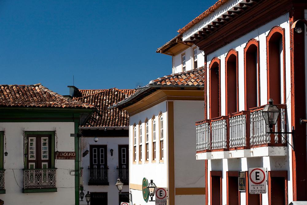 Diamantina _ MG, Brasil...Casas coloniais em Diamantina...The colonials houses in Diamantina...Foto: BRUNO MAGALHAES / NITRO.