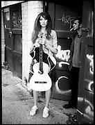 Rebeka & Bill,with broken guitar Bondi