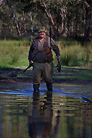 Robert Hodder. Duck hunting season opens near Howlong on the Murray River. Pic By Craig Sillitoe CSZ/The Sunday Age 10/3/2011 This photograph can be used for non commercial uses with attribution. Credit: Craig Sillitoe Photography / http://www.csillitoe.com<br /> <br /> It is protected under the Creative Commons Attribution-NonCommercial-ShareAlike 4.0 International License. To view a copy of this license, visit http://creativecommons.org/licenses/by-nc-sa/4.0/.