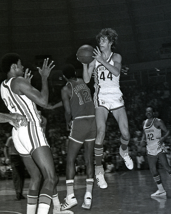 """Peter Press """"Pistol Pete"""" Maravich (June 22, 1947 – January 5, 1988) was an American professional basketball player of Serbian descent. He was born in Aliquippa, Pennsylvania, part of the Pittsburgh metropolitan area and raised in the Carolinas.[2] Maravich starred in college at Louisiana State University (LSU) and played for three NBA teams until injuries forced his retirement in 1980. He is still the all-time leading NCAA Division I scorer with 3,667 points scored and an average of 44.2 points per game. All of his accomplishments were achieved before the three-point line and shot clock were introduced to NCAA basketball and despite being unable to play varsity as a freshman under then-NCAA rules. One of the youngest players ever inducted into the Naismith Memorial Basketball Hall of Fame, Maravich was cited by the Hall as """"perhaps the greatest creative offensive talent in history"""". In an April 2010 interview, Hall of Fame player John Havlicek said """"the best ball-handler of all time was Pete Maravich."""""""