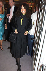 Interior designer TRICIA GUILD at a party hosted American House and Garden magazine with Tomasz Starzewski and Nina Campbell to celebrate the British Issue of the magazine, held at 14 Stanhope Mews West, London SW7 on 13th March 2005.<br />