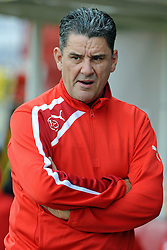 Crawley Town Manager, John Gregory - photo mandatory by-line David Purday JMP- Tel: Mobile 07966 386802 - 06/09/14 - Crawley Town v Rochdale - SPORT - FOOTBALL - Sky Bet Leauge 1 - London - Checkatrade.com Stadium
