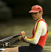 © 2000 All Rights Reserved - Peter Spurrier Sports Photo. <br />Tel 44 (0) 1784-440 771  <br />Mobile 44 (0) 973 819 551<br />email pictures@rowingpics.com<br />Rod Chisholm TSS LM1X 20010301 Thames World Sculling Challenge, Putney, London