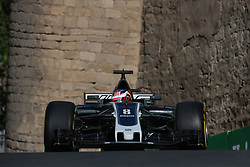 June 23, 2017 - Baku, Azerbaijan - Motorsports: FIA Formula One World Championship 2017, Grand Prix of Europe, .#8 Romain Grosjean (FRA, Haas F1 Team) (Credit Image: © Hoch Zwei via ZUMA Wire)