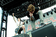 The Devil Wears Prada performs at The Bamboozle music festival, May 2, 2010. East Rutherford, NJ.