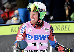 03.12.2017, Beaver Creek, USA, FIS Weltcup Ski Alpin, Beaver Creek, Riesenslalom, Herren, 1. Lauf, im Bild Ted Ligety (USA) // Ted Ligety of the USA reacts after his 1st run of men's Giant Slalom of FIS ski alpine world cup Beaver Creek, United Staates on 2017/12/03. EXPA Pictures © 2017, PhotoCredit: EXPA/ Erich Spiess