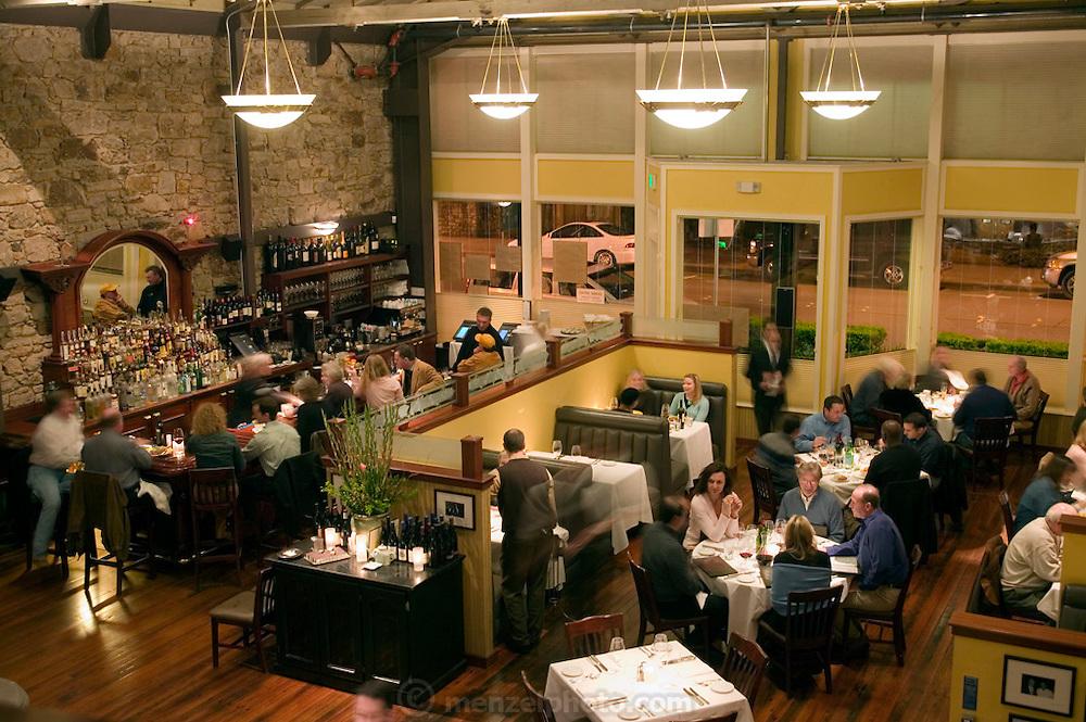Cole's Chop House Restaurant, Napa, California. Napa Valley.