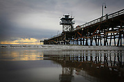 San Clemente Pier on an Overcast Afternoon
