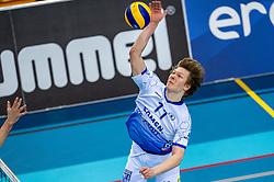 Geoffrey van Gent of Lycurgus in action during the league match between Draisma Dynamo vs. Amysoft Lycurgus on March 13, 2021 in Apeldoorn.