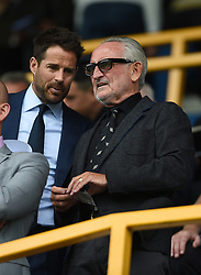 Frank Lampard Snr and Jamie Redknapp in the stands
