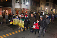 Middletown, New York - The City of Middletown held its holiday parrade and tree lighting on Nov. 25, 2016.