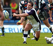 2005 European Challenge Cup Final Sale Sharks v Pau, ENGLAND, 21.05.2005, Sale's srum half Bryan Redpath. distributes the ball from the back of the scrum<br /> Photo  Peter Spurrier. <br /> email images@intersport-images