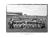 Cork football team - All Ireland Minor Football Semi-Final.<br /> <br /> 16th August 1959<br /> 16/08/1959
