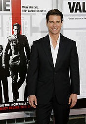 """Tom Cruise at the Los Angeles premiere of his new movie """"Valkyrie"""" at the Directors Guild of America Theatre, Los Angeles."""