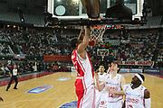 DESCRIZIONE : Roma Lega A1 2006-07 Lottomatica Virtus Roma Whirlpool Varese <br /> GIOCATORE : Howell <br /> SQUADRA : Whirlpool Varese <br /> EVENTO : Campionato Lega A1 2006-2007 <br /> GARA : Lottomatica Virtus Roma Whirlpool Varese <br /> DATA : 25/04/2007 <br /> CATEGORIA : Schiacciata <br /> SPORT : Pallacanestro <br /> AUTORE : Agenzia Ciamillo-Castoria/G.Ciamillo