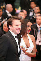 Samuel Le Bihan and his wife Daniela attending the gala screening of Amour at the 65th Cannes Film Festival. Sunday 20th May 2012 in Cannes Film Festival, France.
