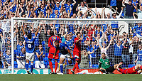 Photo: Ashley Pickering.<br /> Ipswich Town v Crystal Palace. Coca Cola Championship. 26/08/2007.<br /> Jonathan Walters of Ipswich (no. 19) scores the only goal of the match