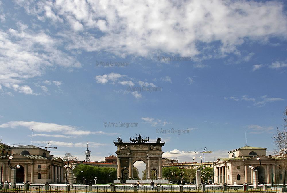 Milano:  Arco della Pace