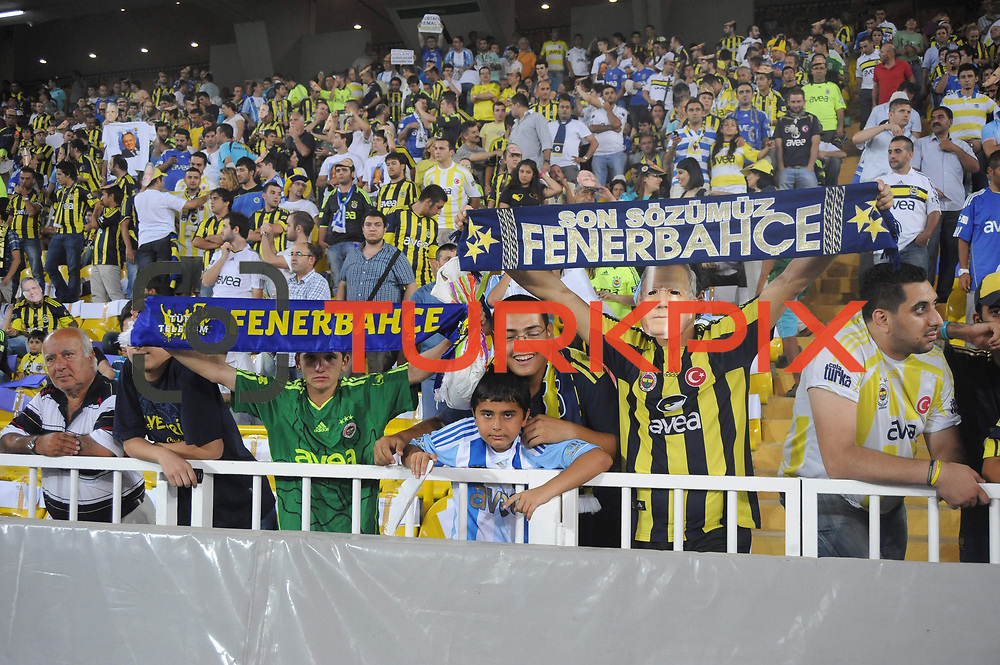 Fenerbahce's supporters during their friendly match soccer match Fenerbahce between Shakhtar Donetsk at Sukru Saracaoglu stadium in Istanbul Turkey on Thursday 21 July 2011. Photo by TURKPIX