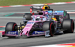 May 10, 2019 - Barcelona, Spain - Racing Point of Sergio Perez during the practices of the GP Spain Formula 1, on 10th May 2019, Barcelona, Spain. (Credit Image: © Joan Valls/NurPhoto via ZUMA Press)