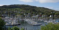 Clyde Cruising Club's Scottish Series 2019<br /> 24th-27th May, Tarbert, Loch Fyne, Scotland<br /> <br /> Tarbert harbour<br /> <br /> Credit: Marc Turner / CCC
