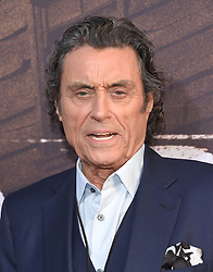 May 14, 2019 - Hollywood, California, U.S. - Ian McShane arrives for the premiere of HBO's 'Deadwood' Movie at the Cinerama Dome theater. (Credit Image: © Lisa O'Connor/ZUMA Wire)