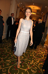News reader KATIE DERHAM at the Costa Book Awards 2006 held at The Grosvenor House Hotel, Park Lane, London W1 on 7th February 2007.<br /><br />NON EXCLUSIVE - WORLD RIGHTS
