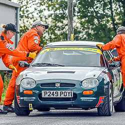 Wiltshire 2018 Gurston down speed hill climb event part of the national hill climb event