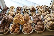Greece, Macedonia, Castoria; Interior of a local bakery