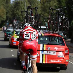 30-09-2016: Wielrennen: Olympia Tour: Zutphen  <br />ZUTPHEN (NED) wielrennen<br />Waterdrager Jonas Nordkroggard