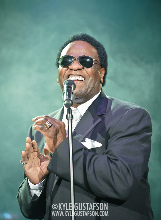 WASHINGTON, D.C. - MARCH 13:  R & B legend Al Green performs at D.A.R. Constitution Hall.  The concert was originally scheduled on Valentine's Day in February but had to be postponed due to the snowpocalypse. (Photo by Kyle Gustafson/For The Washington Post)